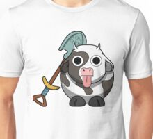 Cow Chop Shovel Unisex T-Shirt