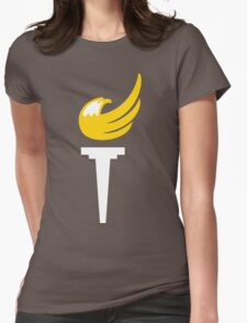 Libertarian Party Torch Womens Fitted T-Shirt