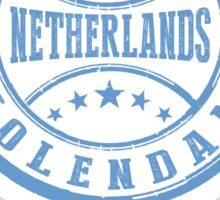 Stamp Of Volendam Sticker