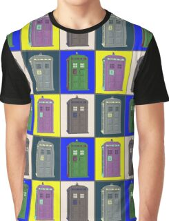 TIMEY WIMEY WARHOL TARDIS 2 Graphic T-Shirt