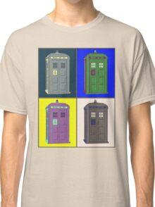 TIMEY WIMEY WARHOL TARDIS 2 Classic T-Shirt