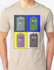 TIMEY WIMEY WARHOL TARDIS 2 Unisex T-Shirt