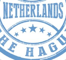 Stamp Of The Hague Sticker