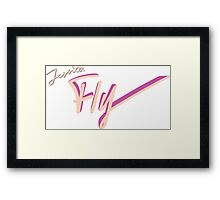 Jessica - Fly Framed Print