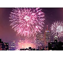 Boston, MA July 4th Pops Fireworks Spectacular! Photographic Print
