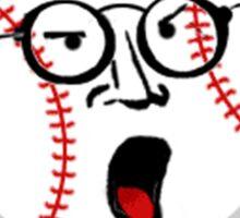 BofaBoys™RULE!-BaseBall Crank  Sticker