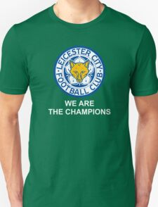 We Are The Champions -LEICESTER- T-Shirt