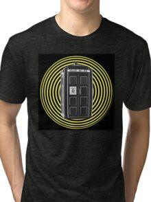 DARK TARDIS TYPE 40 Tri-blend T-Shirt
