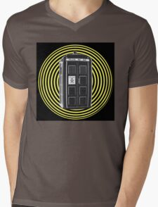 DARK TARDIS TYPE 40 Mens V-Neck T-Shirt