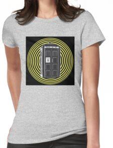 DARK TARDIS TYPE 40 Womens Fitted T-Shirt