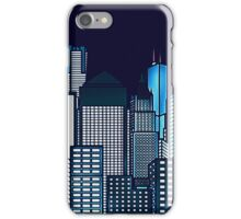 ABSTRACT CITYSCAPE TRES iPhone Case/Skin