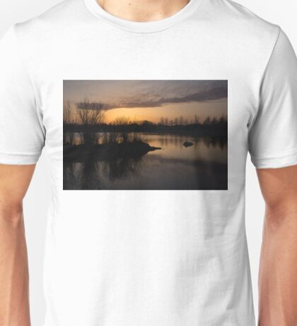 Sundown with Bare Branches Unisex T-Shirt