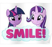 Starlight & Twilight - SMILE! Poster