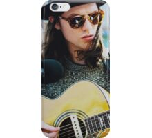 JAMES BAY AND GUITAR iPhone Case/Skin
