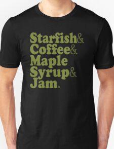 Starfish Coffee Maple Syrup Jam - Prince T-Shirt T-Shirt