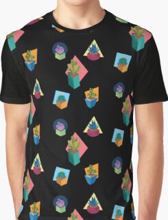 Successful Succulents Graphic T-Shirt