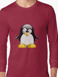 Tux illustration  Long Sleeve T-Shirt