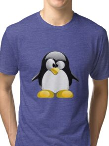 Tux illustration  Tri-blend T-Shirt