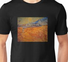 'Reaper' by Vincent Van Gogh (Reproduction) Unisex T-Shirt
