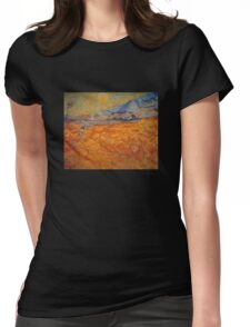 'Reaper' by Vincent Van Gogh (Reproduction) Womens Fitted T-Shirt