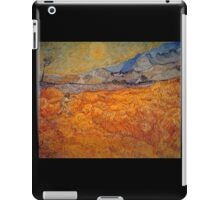 'Reaper' by Vincent Van Gogh (Reproduction) iPad Case/Skin