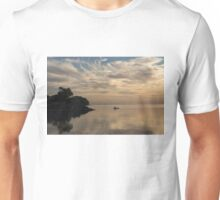 Kayaking Through Pink Gold Unisex T-Shirt