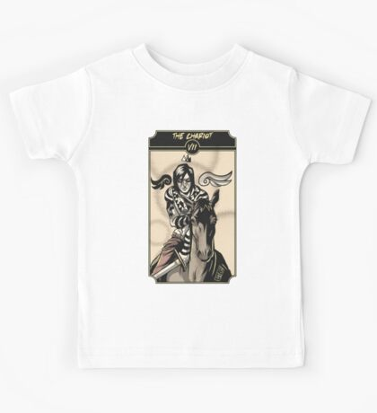 The Chariot - Sinking Wasteland Tarot Kids Tee