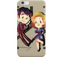 Freddie and Bel iPhone Case/Skin