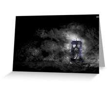 Mysterious Doctor Greeting Card
