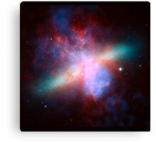 Messier 82 Galaxy Astronomy Image Canvas Print