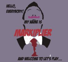 Markiplier intro Kids Tee