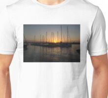 Syracuse Harbour Sunset Unisex T-Shirt