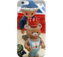 Sandman and Teddy Bear from East Germany `DDR` iPhone Case/Skin
