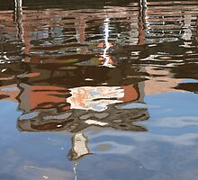 Reflection at the Quay by kalaryder