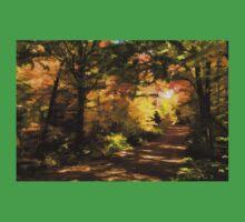Autumn Road Impressions Kids Tee