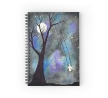 Galaxy Swing Spiral Notebook