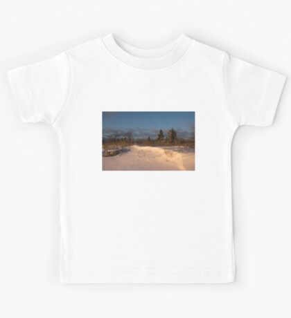 The Morning After the Snowstorm Kids Tee