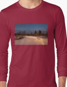The Morning After the Snowstorm Long Sleeve T-Shirt