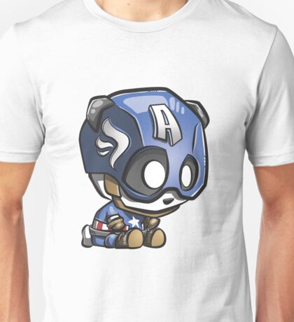 Captain Panda! Or Panda America! Unisex T-Shirt