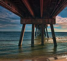 Okaloosa Pier by Gaby Swanson  Photography