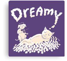 Dreamy Music Canvas Print