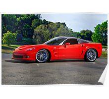 Corvette ZR1 Coupe Poster