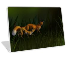 Loopy Foxes Laptop Skin
