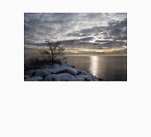 Lakeside Silver – Winter Morning Light Unisex T-Shirt