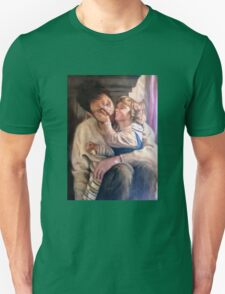 portrait of father and child T-Shirt
