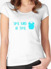Some Kind Of Time- Dog Fight Women's Fitted Scoop T-Shirt