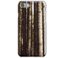 A Cage of Trees iPhone Case/Skin