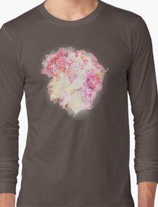 Roses Artwork Long Sleeve T-Shirt