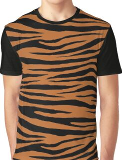 0599 Ruddy Brown Tiger Graphic T-Shirt