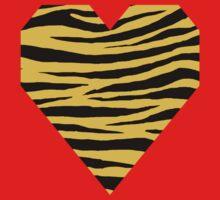 0607 Saffron Tiger Kids Tee